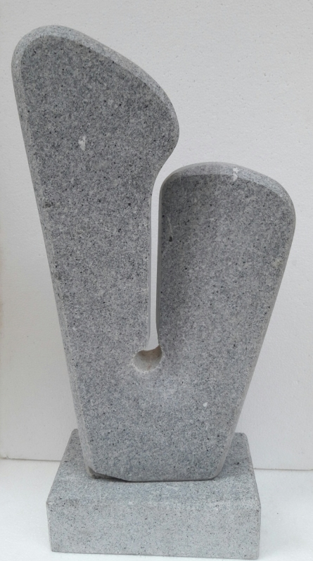 Couple | Sculpture by artist Nema Ram | Granite