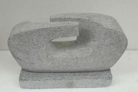Granite Sculpture titled 'Relationship' by artist Nema Ram