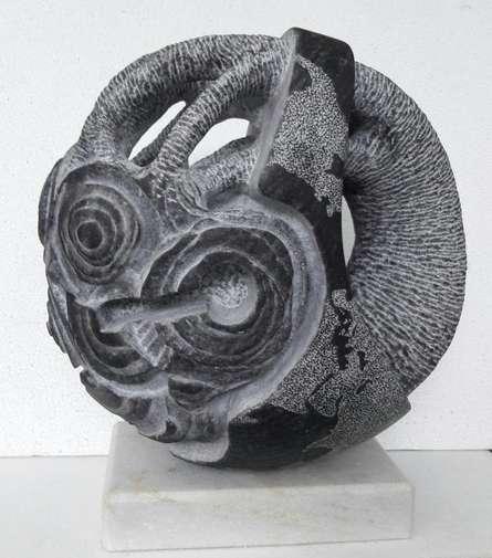 Nema Ram | Save The Tree Sculpture by artist Nema Ram on Black Marble | ArtZolo.com