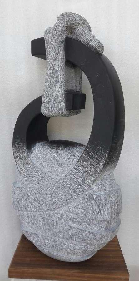 Nema Ram | Untitled Sculpture by artist Nema Ram on Black Marble | ArtZolo.com