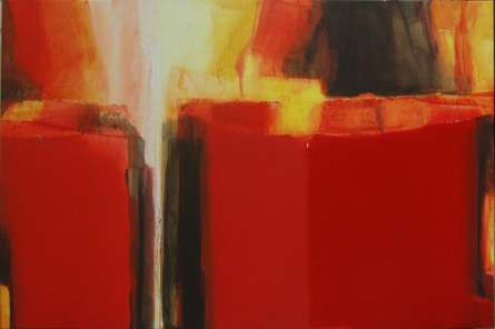 An Unknown Territory-31 | Painting by artist Anil Gaikwad | acrylic | Canvas