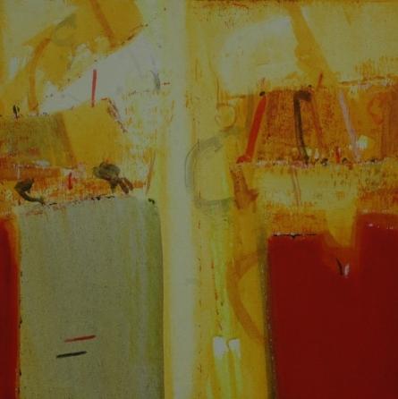 Anil Gaikwad Paintings | Acrylic Painting - Terra Incognita 12 by artist Anil Gaikwad | ArtZolo.com