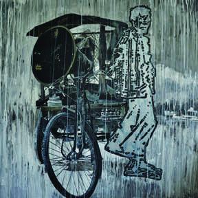 Life Style | Painting by artist Ajit  Deswandikar | oil | Canvas
