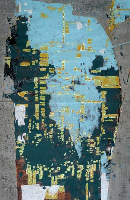 Untitled | Painting by artist Kashinath Jadhav | mixed-media | Paper