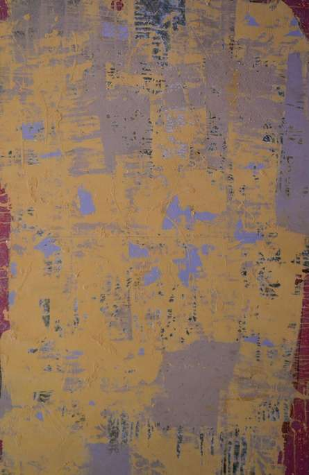 Untitled   Painting by artist Kashinath Jadhav   mixed-media   Paper