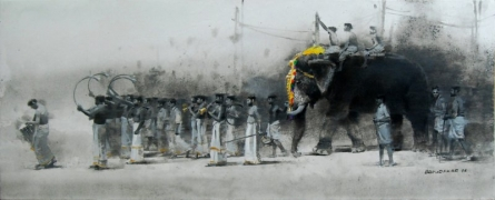 Untitled 3   Painting by artist Pankaj Bawdekar   acrylic   Canvas