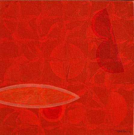 Untitled 22 | Painting by artist Bhushan Vaidhya | acrylic | canvas