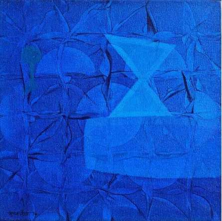 Untitled 21 | Painting by artist Bhushan Vaidhya | acrylic | canvas