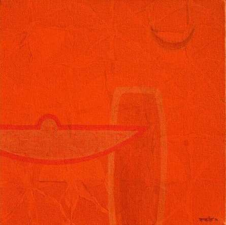 Untitled 18 | Painting by artist Bhushan Vaidhya | acrylic | Canvas