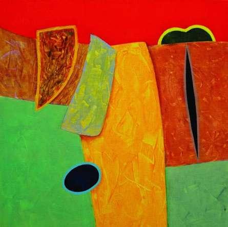 Bhushan Vaidhya | Acrylic Painting title Untitled 15 on Canvas | Artist Bhushan Vaidhya Gallery | ArtZolo.com