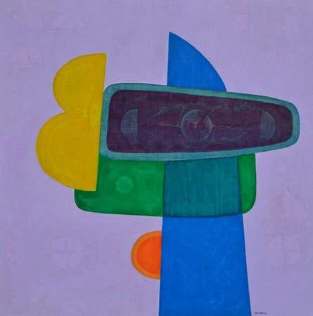 Untitled 11 | Painting by artist Bhushan Vaidhya | acrylic | Canvas