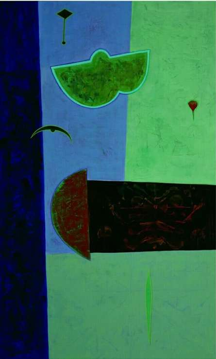 Untitled 3 | Painting by artist Bhushan Vaidhya | acrylic | Canvas