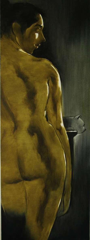 Untitle II | Painting by artist Surendra Jagtap | oil | Canvas