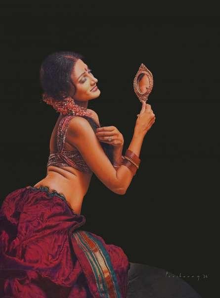 Beauty of women | Drawing by artist Parshuram Patil |  | pencil | Paper