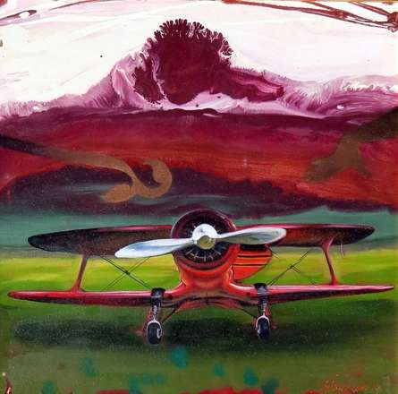 Ankur Rana | Oil Painting title Chariots Of Love 4 on Canvas | Artist Ankur Rana Gallery | ArtZolo.com
