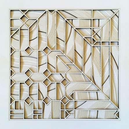 Ravi Shankar | Untitled 11 Mixed media by artist Ravi Shankar on Paper | ArtZolo.com