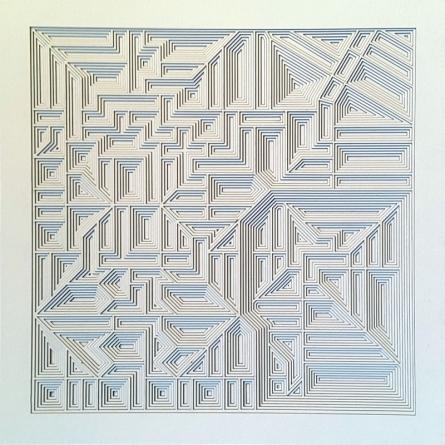 Untitled 18 | Mixed_media by artist Ravi Shankar | Paper
