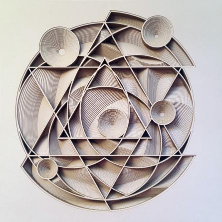 Untitled 23 | Mixed_media by artist Ravi Shankar | Paper
