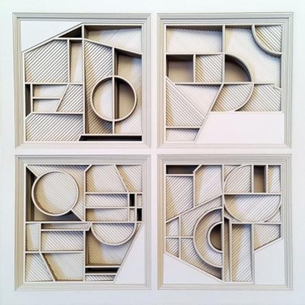 Untitled 7 | Mixed_media by artist Ravi Shankar | Paper