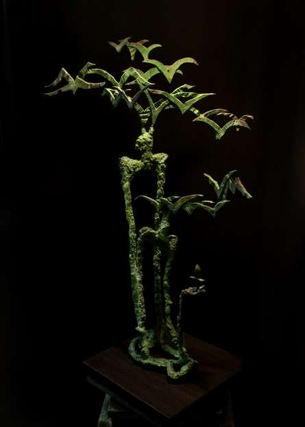 Rohan Pawar | Nature Sculpture by artist Rohan Pawar on Brass | ArtZolo.com
