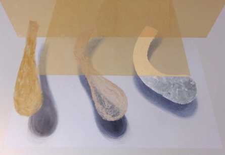 Womb Series 3   Painting by artist Uday Goswami   mixed-media   Canvas