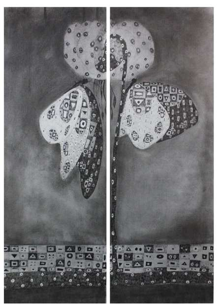Butterfly 1 | Drawing by artist Prathamesh Khandvilkar | | charcoal | Paper