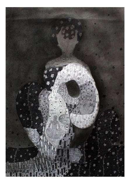 Lady 1   Drawing by artist Prathamesh Khandvilkar      charcoal   Paper