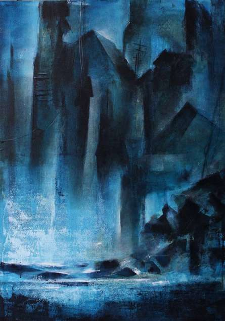 Landscape | Painting by artist NIkHIl Patil | acrylic | Canvas Board