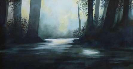 Landscape Acrylic Art Painting title 'Landscape' by artist NIkHIl Patil