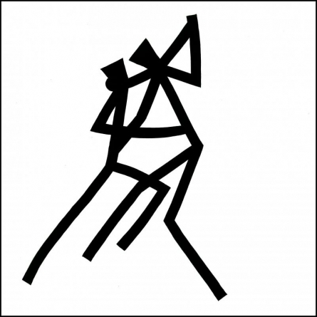 Dance   Drawing by artist Ashok  Hinge      ink   board