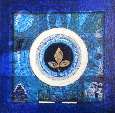 Meditation 11   Painting by artist Nilesh Nikam   acrylic   Canvas