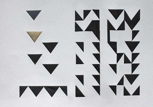 Mixed Media Painting titled 'Untitled 60' by artist Vivek Nimbolkar on Paper