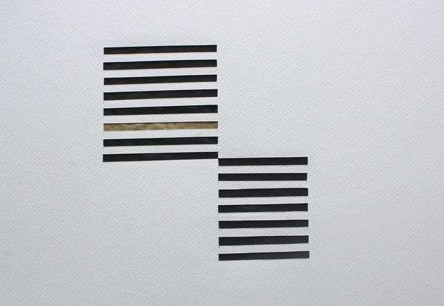 Mixed Media Painting titled 'Untitled 68' by artist Vivek Nimbolkar on Paper