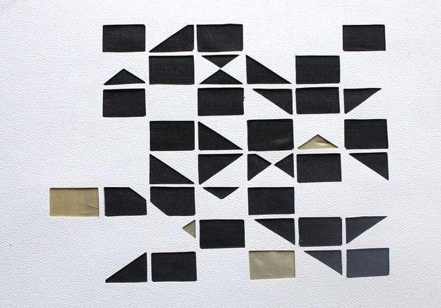 Mixed Media Painting titled 'Untitled 78' by artist Vivek Nimbolkar on Paper