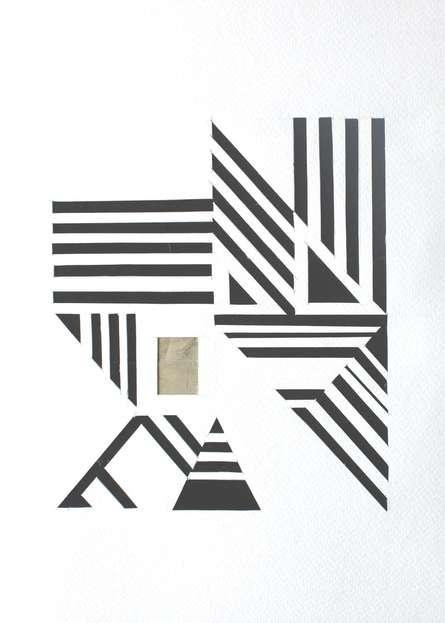 Mixed Media Painting titled 'Untitled 79' by artist Vivek Nimbolkar on Paper