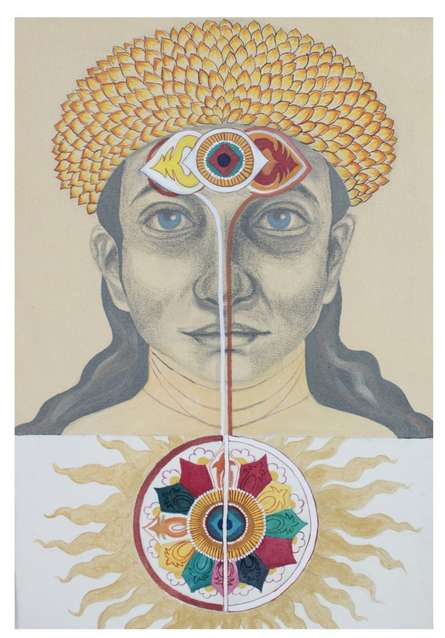 Shailika Shrivastava | Acrylic Painting title Untitled on Canvas | Artist Shailika Shrivastava Gallery | ArtZolo.com