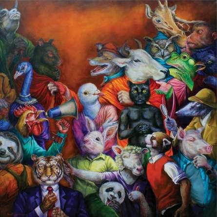 Exploitation | Painting by artist Minal Rajurkar | mixed-media | Canvas