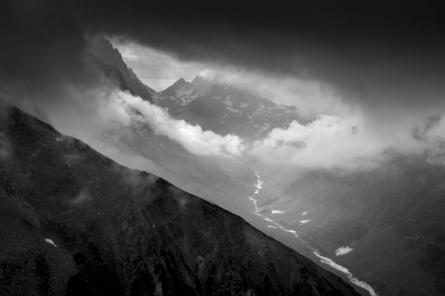 Landscape 11   Photography by artist Satyaki Biswas   Art print on Canvas