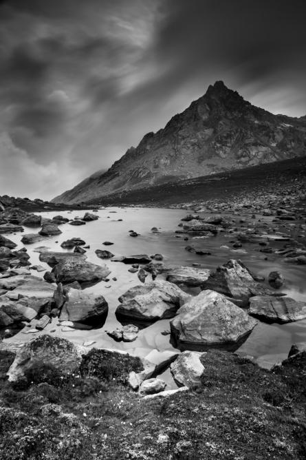 Landscape 18 | Photography by artist Satyaki Biswas | Art print on Canvas