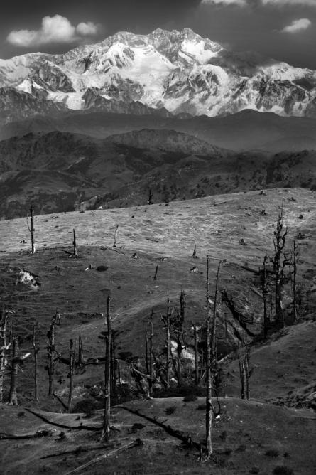 Landscape 44 | Photography by artist Satyaki Biswas | Art print on Canvas