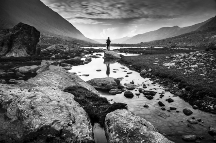 Landscape 7 | Photography by artist Satyaki Biswas | Art print on Canvas