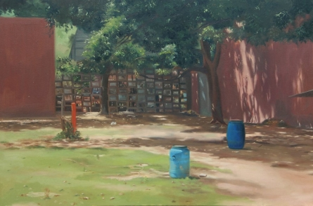 Landscape 1 | Painting by artist Kulwinder Singh | oil | Canvas