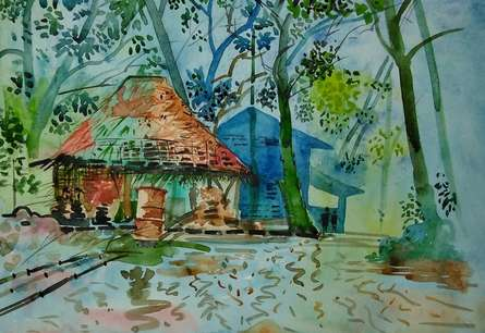Img 20170210 212650 | Painting by artist MRITYUNJOY Chakraborty | watercolor | Art paper