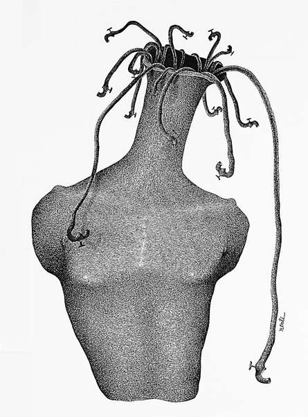Thirst 69 | Drawing by artist Nuril Bhosale |  | pen | Paper