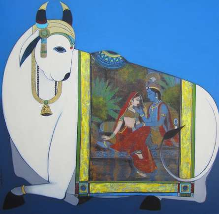 Surabhi | Painting by artist Ashok Rathod | acrylic | Canvas
