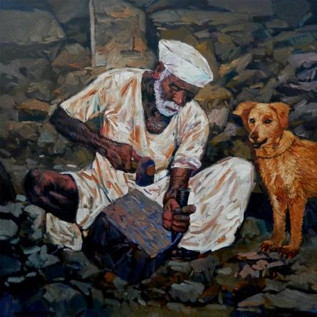 NanaSaheb Yeole Paintings | Oil Painting - Creator by artist NanaSaheb Yeole | ArtZolo.com