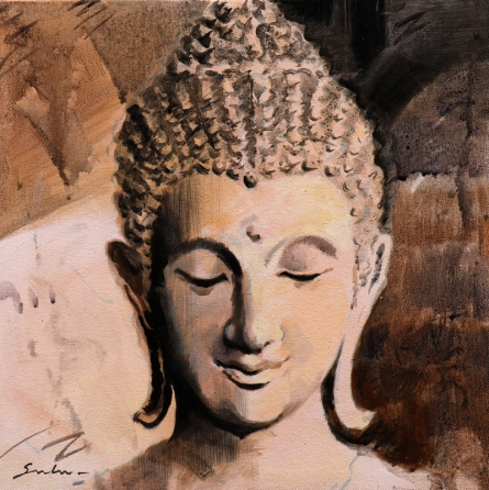 Figurative Acrylic Art Painting title '7' by artist Sulakshana Dharmadhikari