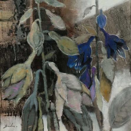Nature Acrylic Art Painting title 'Spring 1' by artist Sulakshana Dharmadhikari