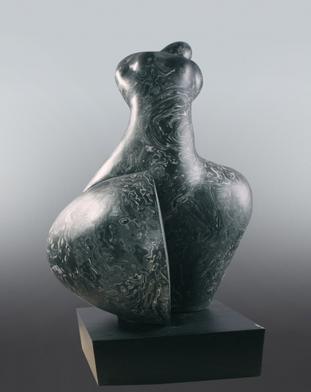 Female Figure | Sculpture by artist MAHESH ANJARLEKAR | Synthetic stone