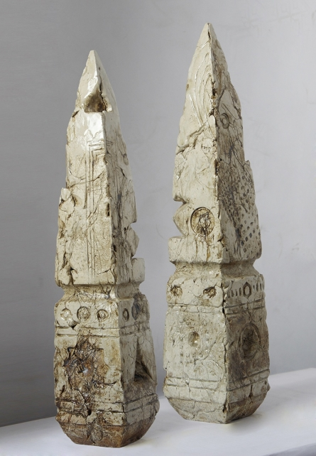 Relics Of Time 2 | Sculpture by artist MAHESH ANJARLEKAR | Ceramics